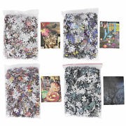 4 Boxs Halloween Pattern Puzzles Diy Educational Toys Gift Home Decoration Lj4