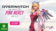Pink Mercy Skin Code For Overwatch Xbox One Edition