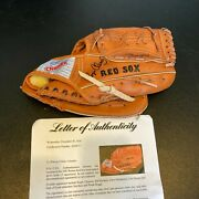 1987 Boston Red Sox Team Signed Glove Roger Clemens Wade Boggs Jim Rice Psa Dna