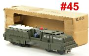 Lionel Pw 44 U.s.marines Mobile Missile Launcher Powered /366/ 1960-62