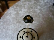 Gold Pan Hat Pin Pure Gold Flakes Dredge Sluice Ore Mining Miner 3 Inches Long
