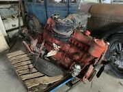 Buick 263 Straight Eight Engine 47083794 With Manual Trans— Complete And Seized