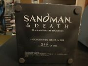 Sandman And Death Bookends First Edition See Pics Read Description No Box