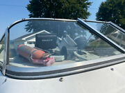 1994 Dynasty 215 Elan Daycruiser Right Side Front Windshield Curved Glass Piece