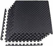 Balancefrom 1 Extra Thick Puzzle Exercise Mat With Assorted Colors, Styles...