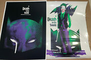 Batman Death In The Family Set Of 2 Mondo Poster Prints Wbyk We Buy Your Kids