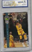 1992 Classic Shaquille O'neal Promo Card Rookie Gold Wcg 10 Gem Mint Memers Only