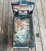 Vintage 2000 Hasbro Tabletop Monopoly Pinball Machine No Legs And Adapter Works