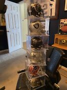 Lot Of 6 Nfl Autographed Mini Helmets…all Time Greats Hofs All-pros Pro Bowls