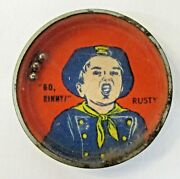 1950's Go Rinny Rusty Rin Tin Tin Tv Show Nabisco Cereal Bb Dexterity Puzzle