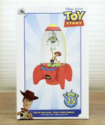 New - Disney Park Toy Story 25th Anniversary Light Up Snowglobe Le 2,500