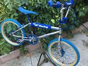 Very Rare Old School Vintage Bmx 1981 20andrdquo Cw Racing Special Flat Top Tube Build