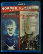 Hellraiser Horror Double Feature Blu-ray Clive Barkerand039s