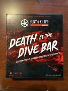 Hunt A Killer - Death At The Dive Bar - All-in-one Murder Mystery Game Complete