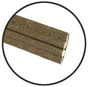 Macs Auto Parts Model A Ford Hidem Welt Trim - Brown - 5/8 Wide - Sold By The