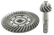 Macs Auto Parts Ring And Pinion Gear Set - 3.54 To 1 Ratio - 10 Splined - Ford
