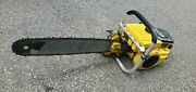 Vintage Collectible Mcculloch 1-63 Chainsaw Parts Only