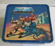 Lunchbox, Metal. Masters Of The Universe. Mattel1983 No Thermos
