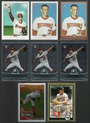 Lot Of 8 Stephen Strasburg Rookie Cards 2010 Topps Chrome And More Nationals