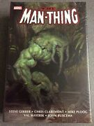 Marvel Comics - Man-thing Omnibus Hc By Steve Gerber - New And Sealed 1st Print