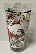 Pizza Hut Snidely Whiplash Dudley Do Right 70s Collector Glass Rare Vintage