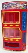 Rare Collector Mars Mandms Chocolate Candy Vending Bank Machine Doll Toy Skittles