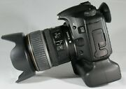 Canon Eos 30d 8.2mp Digital Camera W/ Ef-s 17-85mm 4-5.6 Is Lens + Battery Grip