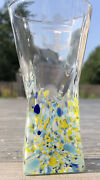 Vintage Royal Caribbean Millefiori Glass Shot Glass Crown And Anchor Society 4
