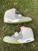 Nike Air Yeezy 2 Pure Platinum Size 10.5