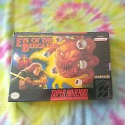 Dungeons And Dragons Eye Of The Beholder Brand New Sealed Super Nintendo Snes