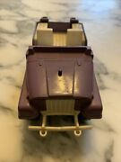 Vintage Steel Hubley Purple Jeep Toy Made In Usa