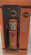 Harley Davidson Limited Edition Authentic 1950andrsquos Replica Gas Pump Bank