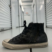 John Varvatos X Chuck Taylor All Star Side Zip High Turtledove Shoes Mens Size 9
