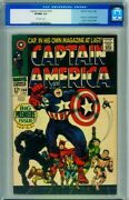 Captain America 100 Cgc 9.0 // First Issue // 1968 // 0113739004