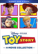 Pb Children/family-toy Story 4-movie Collection Uk Import Dvd [region 2] New