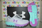 Under Armour Girls' Surge 2 Fade Running Shoes 3023979 100 Size 5y Gray Nib