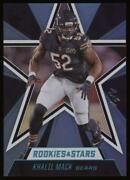 2020 Khalil Mack Panini Rookies And Stars Blue Parallel 1/1 Nice Invest Now