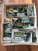 Roco And Other Brands Model Lot Of 150 Pieces - Tanks, Trucks And Motorcycles