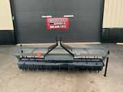 New 7ft Titan Implement 8107 Three Point Hitch Spike Aerator