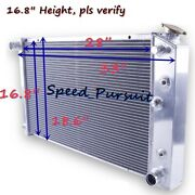 3-row Aluminum Radiator For 1966-1990 Buick Le Sabre/riviera 1971-1985 28and039and039 Core