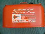 Vintage Evinrude Cruise A Day 6 Gallon Gas Boat Can