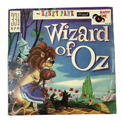 Wizard Of Oz Lp Record 1966 Made In England