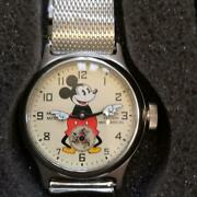 Disney Shareholders Only Mickey Mouse Watch Ω Omega Genuine Belt 2028