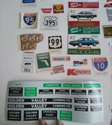 Model Train Decals For Villages Train Sets Magazine Clippings From Train Expert