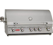 Bull Brahma 38-inch 5-burner Built-in Natural Gas Grill With Rotisserie - 57569