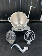 Hobart Legacy 60 Qt Hl600 Mixer Attachments Hook Paddle Whip