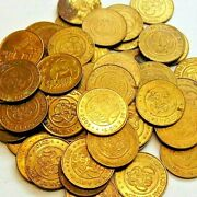 Chuck E Cheese Token Lot Of 128 1990 And Up 3 Bonus Tokens 2 Cec 1980and039s And Showbiz