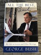 All The Best, George Bush By George Hw Bush, Signed Autographed Hc/dj