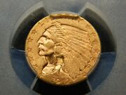 1912 2.50 Gold Indian Quarter Eagle Ms-63+ Pcgs Better Date Nice Coin