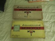 Vintage Monopoly And Parcheesi Board Games Collection